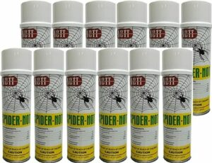 Spider Not - Spider Killer Aerosol 12 Cans