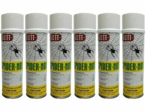 Spider Not - Spider Killer Aerosol 4 Cans