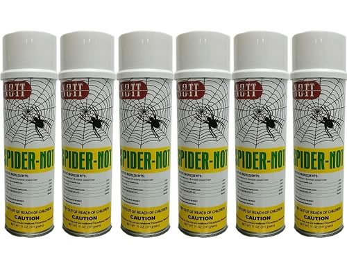 Spider Not - Spider Killer Aerosol 4 Cans